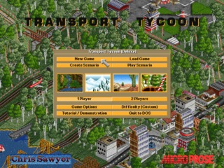 Transport Tycoon Deluxe (DOS)