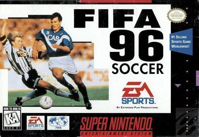 FIFA Soccer 96   super nes