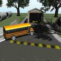 3D School Bus Parking
