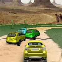 3D Jeep Racing