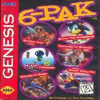 6-Pak Sega Mega Drive