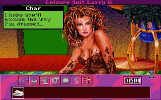 Leisure Suit Larry 6: Shape Up or Slip Out! ( DOS )