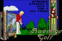 Atari Lynx - Awesome Golf