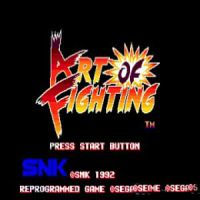 Art of Fighting SEGA