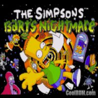 Simpsons Barts  Nightmare