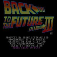Back to the Future 3 SEGA