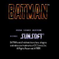 Batman SEGA
