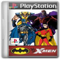 3 En 1 Batman With X-Men Psx