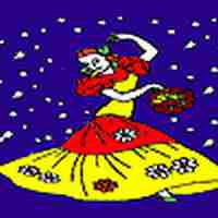 Best flamenco dancer coloring