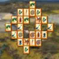 Dino Forest Mahjong