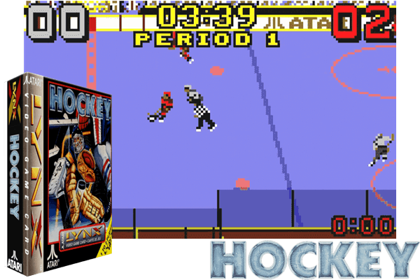 Atari Lynx - Hockey