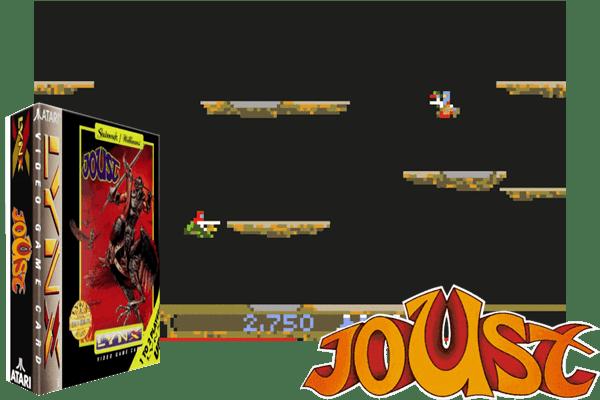 Atari Lynx - Joust