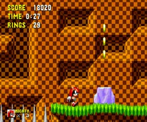 Mighty the Armadillo in Sonic 1