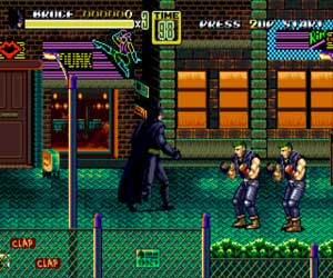 Streets of Rage 2 DC Comics Heroes Edition