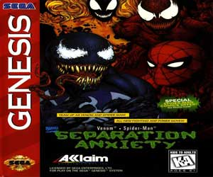 Spiderman & Venom Separation Anx