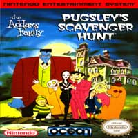 Addams Family, The - Pugsley's Scavenger Hunt nes