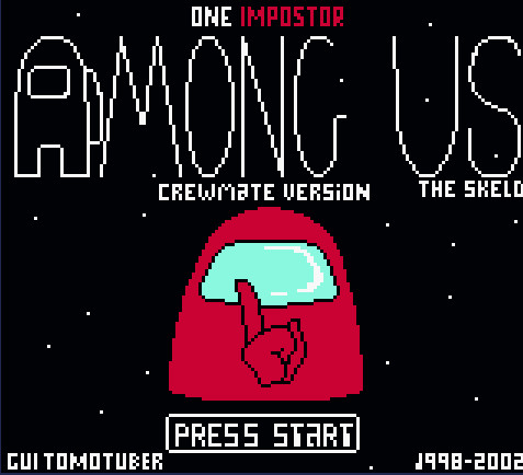 Among Us GameBoy online