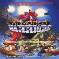 Armored Warriors Capcom CPS 2
