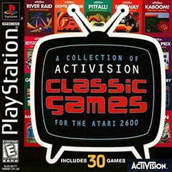 A Collection of Activision Classic Games for the Atari 2600