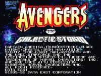 Avengers in Galactic Storm Arcade
