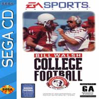 Bill Walsh College Football Sega CD