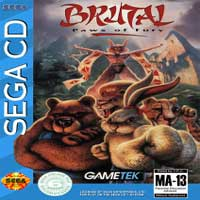 Brutal - Paws of Fury Sega CD
