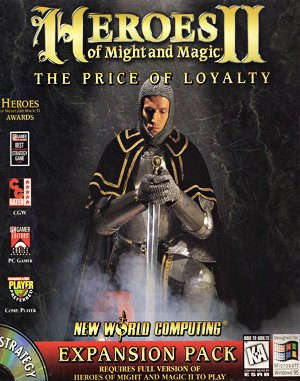 Heroes of Might and Magic II: The Price of Loyalty (DOS)