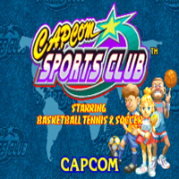 Capcom Sports Club Capcom CPS 2