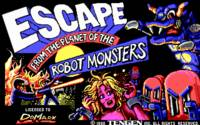 Escape from the Planet of the Robot Monsters ( DOS )