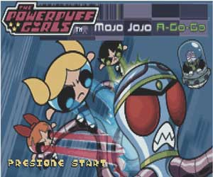 The Powerpuff Girls Mojo Jojo A-Go-Go