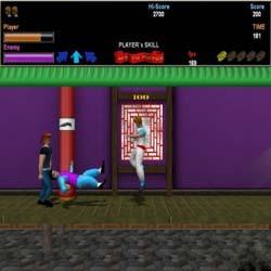 Kung Fu Master 3D Remake