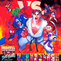Marvel Super Heroes Vs. Street Fighter Capcom CPS 2