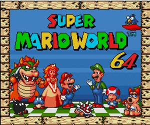Super Mario World 64 Sega Genesis