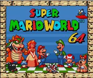 Super Mario World 64 Sega Genesis