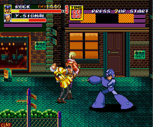 Play Streets of Rage Mega Man Edition Free Online