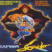 Strider Capcom CPS 1