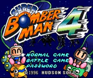 Super Bomberman 4 Free Online