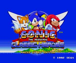 Play Sonic Classic Heroes Rise of the Chaotix Free Online