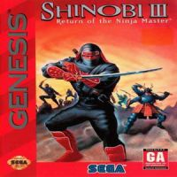 Shinobi 3 - Return Of The Ninja Master (Sega)