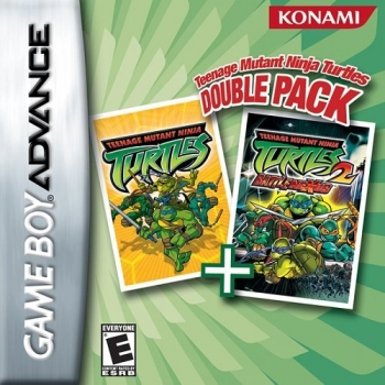 Teenage Mutant Ninja Turtles - Double Pack