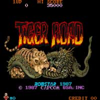 Tiger Road Coin Op Arcade