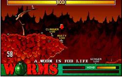 Worms - Gusanos - Online