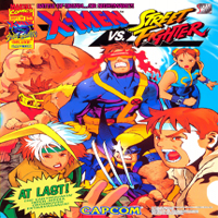 X-Men Vs. Street Fighter Capcom CPS 2