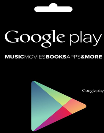 Google Play código de regalo